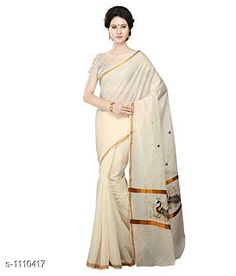 Checkout this latest Sarees Product Name: *Stylish Cotton Women's Saree* Saree Fabric: Cotton Blouse: Running Blouse Blouse Fabric: Cotton Pattern: Printed Sizes:  Free Size Easy Returns Available In Case Of Any Issue   Catalog Rating: ★4.4 (188)  Catalog Name: Kasavu Drishya Stylish Cotton Womens Sarees Vol 2 CatalogID_136862 C74-SC1004 Code: 945-1110417-6321