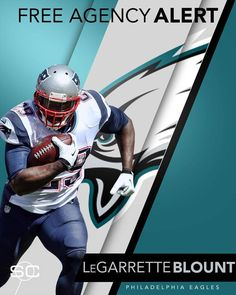 ba9d52f80 Breaking  The Philadelphia Eagles will sign LeGarrette Blount to a one-year  deal.