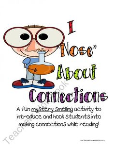 Making Connections - I love this introduction activity to teach students what making a connection while reading means!   Get introduction and motivational activity!  Teachers Notebook