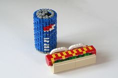 Lego Hot Dog and Soda