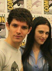 Colin Morgan and Katie McGrath ~ Merlin