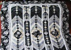 Gastgeschenke - Aufwändige Decke Elegance - ein Designerstück von meine-bunte-flickenecke bei DaWanda