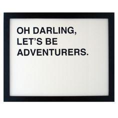 ReForm School: Let's Be Adventurers Print