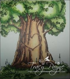 Copic Marker Europe: Colouring the Greenery of a Tree Tutorial