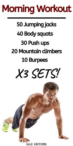 3 Best morning workouts for men which you can do at home! #morningworkouts #mensworkouts #workoutsformen #bodyweightworkouts Morning Workout Routine, Full Body Workout Routine, Abs Workout Routines, Gym Workout Tips, Gym Workout Chart, Workout Challenge, Mens Full Body Workout, Belly Fat Workout For Men, Lose Belly Fat Men