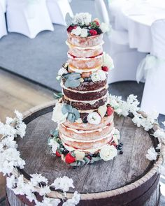 LOUISE & MARK 🌿 It's been a while since I've done a naked cake and when Louise asked for it to be rustic and messy I knew this would be a… Rustic Wedding, Our Wedding, Wedding Ideas, Dream Marriage, Buttercream Wedding Cake, Bees Knees, Lake District, Wedding Things, Business Ideas