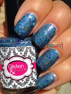 My Nail Polish Obsession: Glisten & Glow Love You To The Blue and Back