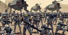 Republic War Machine / Clone Units