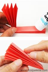 Step 6 Accordion Paper Flowers