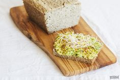 Pan fermentado de trigo sarraceno y semillas de girasol