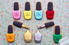 I need these - right now! -- OPI Nail Polish Cookies by Dessert Menu, Please …