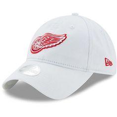 95fb07c87f4d3d Detroit Red Wings New Era Women's Preferred Pick 9TWENTY Adjustable Hat -  White