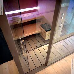 Sistema sauna e hammam Logica - Effe Spa Design, Turkish Bath, Stairs, Indoor, Shower, Contemporary, House, Saunas, Home Decor