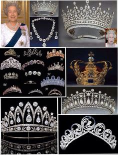 I recomend this site for those dreamy moments. Royal Crown Jewels, Royal Crowns, Royal Tiaras, Royal Jewelry, Tiaras And Crowns, Queen Elizabeth Jewels, Elisabeth Ii, Diamond Tiara, Circlet