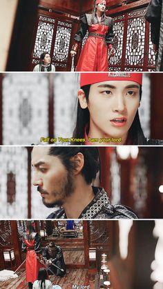花郎Hwarang. I absolutely loved this scene.  I loved his manliness here!