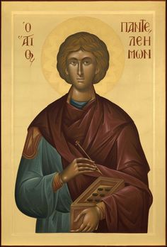Orthodox Icons, Mona Lisa, Saints, Nursing, Artwork, Medical, Work Of Art, Auguste Rodin Artwork, Medicine