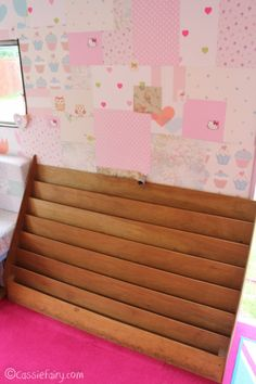 My little vintage caravan project ~ a different kind of bookcase | Cassiefairy - My Thrifty Life