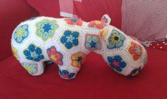Littlw happy hippo