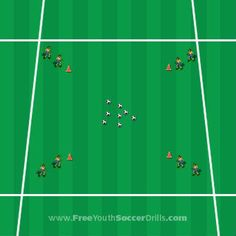 Private soccer coach top soccer soccer drills passing youth soccer camps,football drills for 12 year olds football training routine. U7 Soccer Drills, Youth Football Drills, Soccer Practice Drills, Football Training Drills, Soccer Drills For Kids, Soccer Skills, Soccer Coaching, Youth Soccer, Kids Soccer
