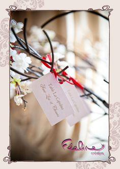 Plan de table escort cards By Féeline création Mariage, baptême, www.feelinecreation.com, menu, dragée, cadeaux invités, marque-place, livret de cérémonie, fleur, livre d'or, boite cadeau, urne, plan de table, coussin alliance, dentelle, retro, champêtre, romantique .... Wedding invitation, save the date