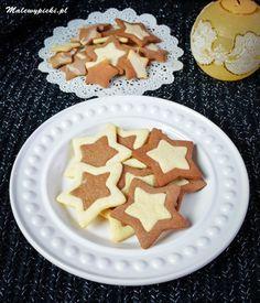 Kruche gwiazdki #malewypieki #glutenfree #cookies Gingerbread Cookies, Gluten Free, Desserts, Food, Gingerbread Cupcakes, Glutenfree, Tailgate Desserts, Deserts, Essen