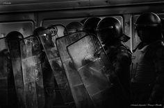 ***CLICK IMAGE*** Protesta estudiantil, Santiago de Chile. by Manuel Alejandro Venegas Bonilla #photojournalismphotography #photography