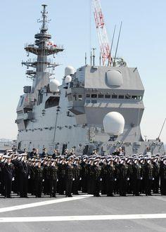 「いずも」就役 史上最大の護衛艦「ほとんど空母」(画像集)
