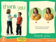 Learn how to sign thank you in ASL (American Sign Language). Its an important sign for good manners and showing respect! Sign Language Book, Sign Language For Kids, Learn Sign Language, American Sign Language, Korean Language, Baby Signing Time, Libra, Learn To Sign, Asl Signs