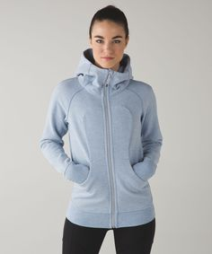Release Date: 1/2016. Original Price: $118. Materials: Cotton Fleece. Why we made this  Our classic hoodie has ribbed panels for freedom of movement and a long length for bum coverage.Key features  soft, thick Cotton Fleece fabric helps lock in heat  oversized hood helps keep you warm  elastic zipper pull doubles as an emergency hair tie  importedFit + functiondesigned for: to-and-fromfabric(s): Cotton Fleecefit: slimlength: hip