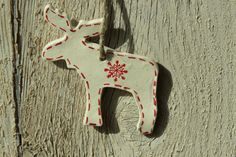 Reindeer Scandinavian Christmas decoration