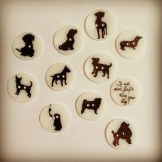Malle Sien | Doggy buttons (Shrinky dinks)