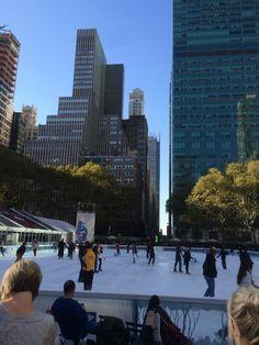 Bryant Park in New York, NY
