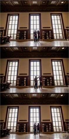 Detroit Public Library Engagement Photographer Engagement Photography Michigan
