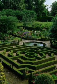 I have had recurring dreams - happy dreams - about a garden maze ever since I can remember
