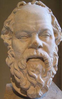 SOCRATES: GREEK PHILOSOPHER.