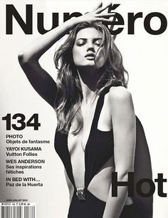 Lindsey Wixson - Photo: Sebastian Kim for Numero June/July 2012 such a different look for her. Lindsey Wixson, Fashion Magazine Cover, Fashion Cover, Magazine Cover Design, Magazine Covers, Vanity Fair, Sebastian Kim, Gq, Magazine Mode