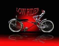 Lowrider Bike Drawings | Red Lowrider Pictures, Images & Photos…