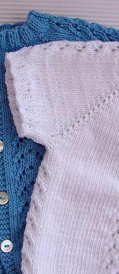 JERSEY DE BEBE GUILLE | Puntomoderno.com Baby Boy Knitting, Free Baby Knitting Patterns, Baby Cardigan