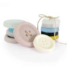 Graine Creative : savons DIY boutons / DIY soap / mercerie / cute Creations, Make Soap, Diy Buttons, Ink Pads, Mussels, Soaps, Haberdashery