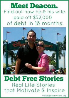 Are you burdened by consumer debt? Find out how Deacon & his wife paid off $52,000 of debt in 18 months.