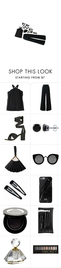 """""""Autonomous"""" by jetra13 ❤ liked on Polyvore featuring Proenza Schouler, STELLA McCARTNEY, Topshop, BERRICLE, Karl Lagerfeld, Quay, Clips, Native Union, Shany and e.l.f."""