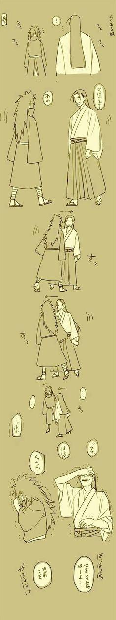 Madara e Hashirama || Naruto