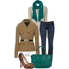 """Fall Outfit: Jade"" by stacy-klein on Polyvore"