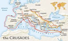 Crusades map activity knights templar pinterest map activities the crusades 1096 to many muslims considered it a vicious invasion by the europeans onto their lands the christians treated the muslims and the jews much gumiabroncs Gallery