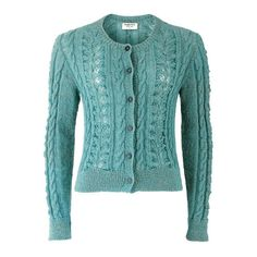 People Tree Camille Blue Lace Cardigan (£63) ❤ liked on Polyvore featuring tops, cardigans, becca matthews, blusa, outerwear, green lace top, lacy cardigan, blue lace top, lacy tops and people tree