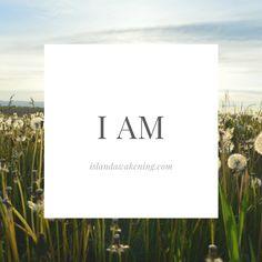"""""""I AM"""" self love affirmations meditation"""