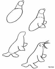 free clip arts: How To Draw Animals clipart | Draw Something ...