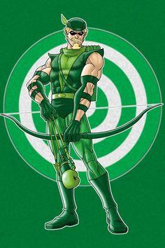Green Arrow Prestige Series by Thuddleston on DeviantArt Dc Comics Superheroes, Dc Comics Characters, Dc Comics Art, Marvel Dc Comics, Green Arrow, Superman, Batman, Dc Heroes, Comic Book Heroes