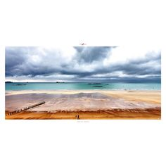 Reproduction photo - Ciel de traine - 50x100 cm - Affiche poster  - Copyright Philip Plisson ARTMOSPHERE