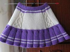 bebek hırkaları anlatımlı - Knitted Baby Outfits, Girls Knitted Dress, Crochet Dress Girl, Knit Baby Sweaters, Crochet Skirts, Knit Skirt, Girls Sweaters, Knitting For Kids, Crochet For Kids